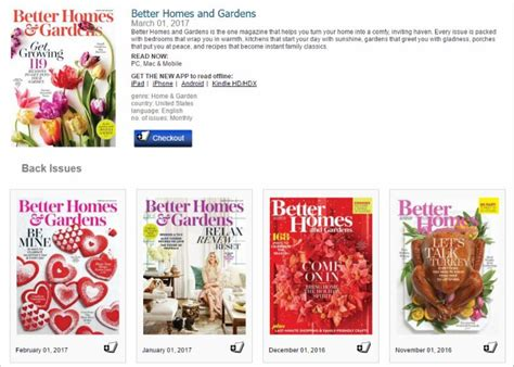 better homes and gardens past issues love magazines try zinio charlotte mecklenburg library