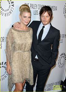 Full Sized Photo of laurie holden norman reedus paley ...