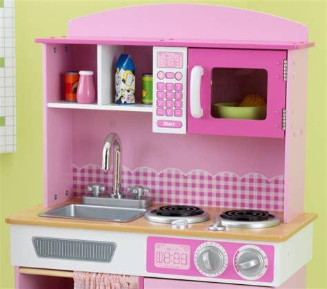 Kidkraft Home Cookin' Pink Wooden Kitchen Play Set  Ebay