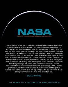 NASA - 50th Magazine