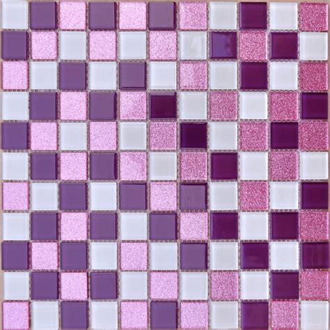 white  purple backsplash powder pink bathroom tile
