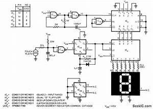 Led Die - Led And Light Circuit - Circuit Diagram