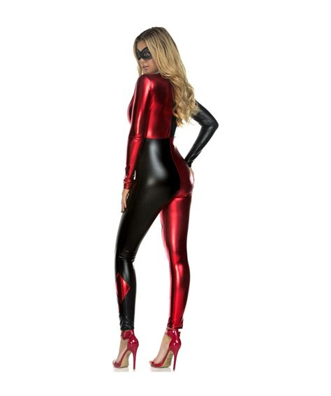 Harley Quinn Catsuit Womens Costume Cosplay Costumes