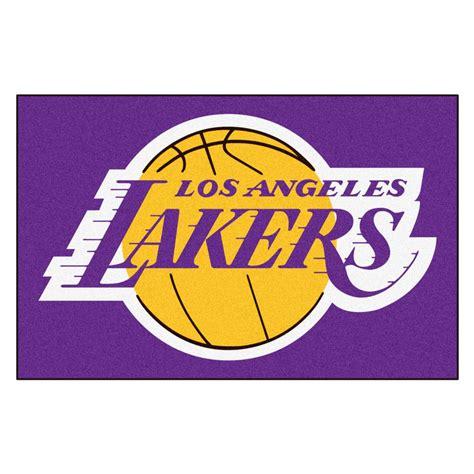 FANMATS NBA Los Angeles Lakers Purple 19 in. x 30 in ...