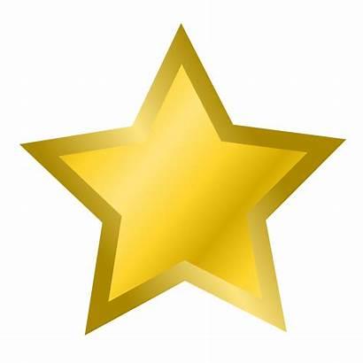 Star Gold Illustration Clipart Yellow