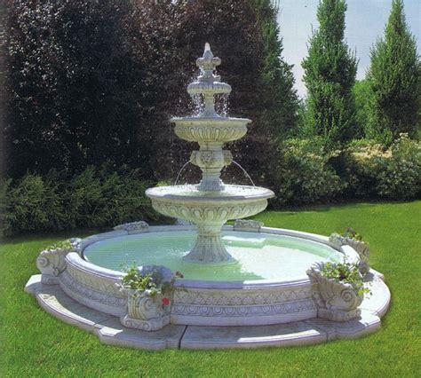 Springbrunnen Brunnen Garten Zierbrunnen Etagenbrunnen Ebay