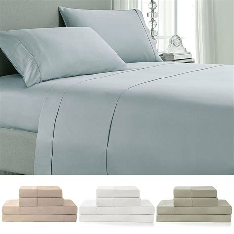 luxury hotel 100 cotton bed sheet 400 thread count