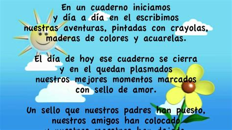 poema la graduaci 243 n de kinderr mov youtube