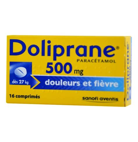 doliprane mg boite de cps mon pharmacien conseil