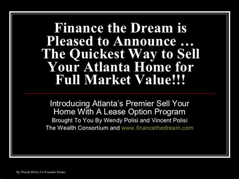 Finance The Dream Is Pleased To Announce …the Quickest Way. Nursing Online Masters Programs. What Does A Fashion Stylist Do. Health Insurance Brokers Atlanta. Nursing Assistant Course Online. Gibson Insurance Agency Vespa Insurance Rates. Non Medical Exam Term Life Insurance. Order Checks Online Fast Shipping. How To Make An Alarm System San Jose Dental
