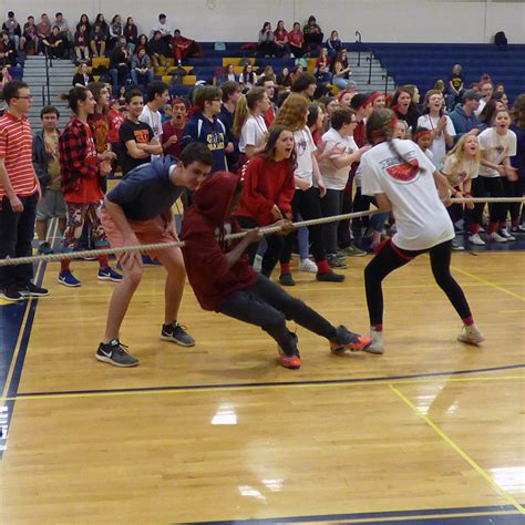 conval high school spirit rally april vacation conval regional