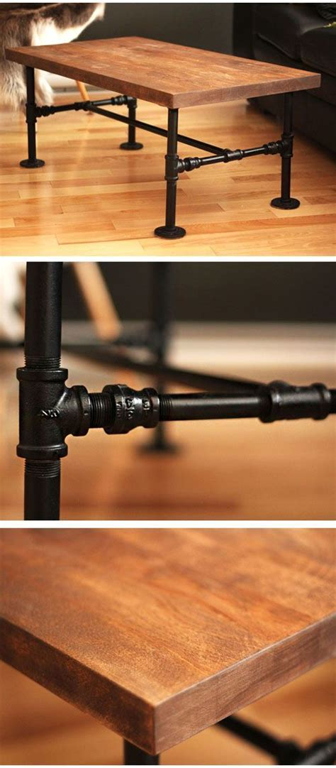 black iron pipe desk diy black iron pipe table no tools only 1 screwdriver
