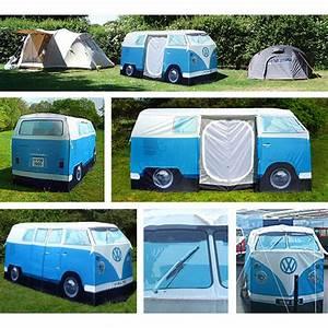 E Auto Kombi : vw kombi tent camper van red ~ Jslefanu.com Haus und Dekorationen