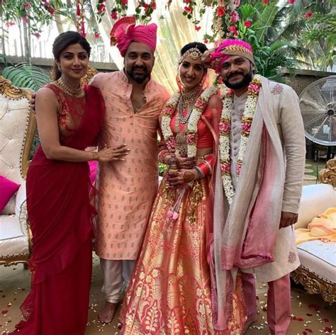 shilpa shetty kundras sisters  law leave  teary eyed