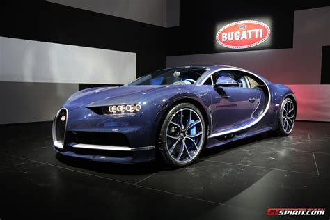 Bugatti owes its distinctive character to a family of artists and engineers, and has always strived to offer the extraordinary, the unrivaled, the best. Geneva 2017: Bleu Royal Bugatti Chiron - GTspirit