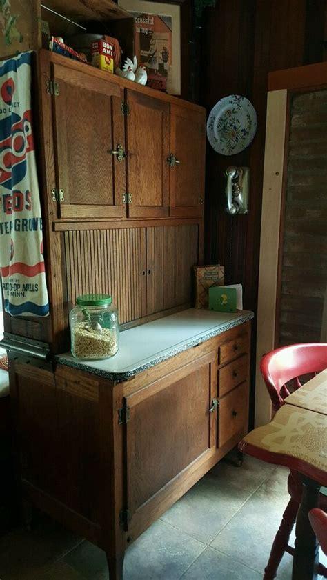 antique original early  hoosier mfg  kitchen