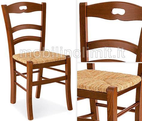 sedute in paglia sedia in faggio con seduta in paglia