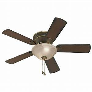 Harbor breeze ceiling fan light kit lowes : Harbor breeze keyport in walnut indoor flush mount
