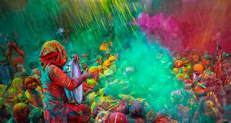 indian color festival holi festival india exploration
