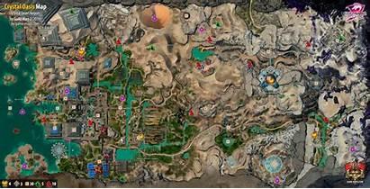 Oasis Crystal Map Guild Wars Maps Gw2