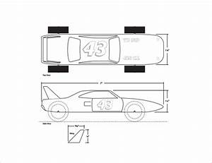 pinewood derby templates 11 download documents in pdf With pinewood derby race car templates