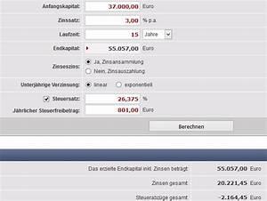 Zinseszins Berechnen : zinsen kredit berechnen sparen im internet zuerst online zinsen berechnen finanz der kredit f ~ Themetempest.com Abrechnung