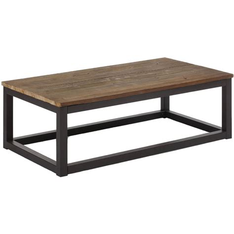 distressed wood coffee table in coffee tables