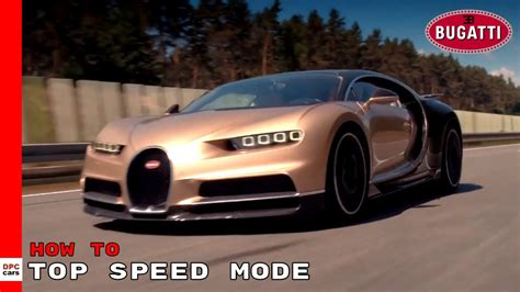 But that's not its actual top speed. How To Unleash Bugatti Chiron Top Speed Mode - YouTube