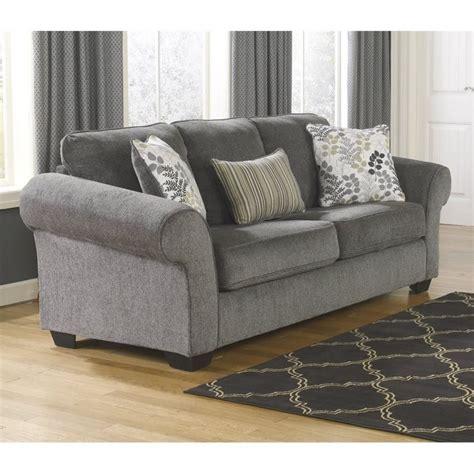 ashley makonnen chenille queen size sleeper sofa