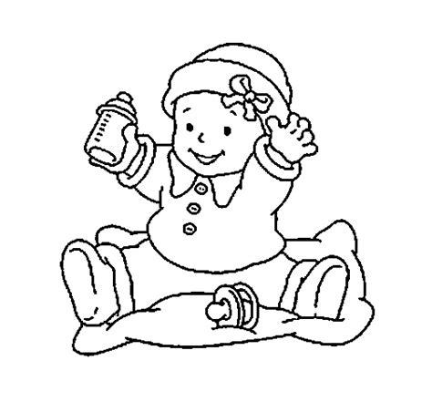 disegni bebe da stare disegno di beb 232 3 da colorare acolore
