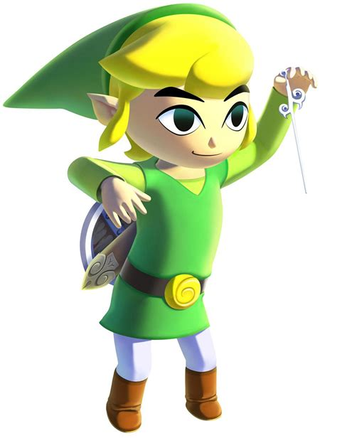 Hd Link And Wind Waker Characters And Art The Legend Of
