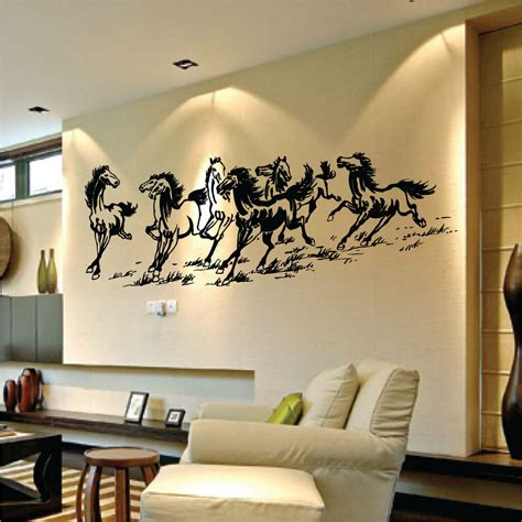 large  horses vinyl wall art stickers wall decals