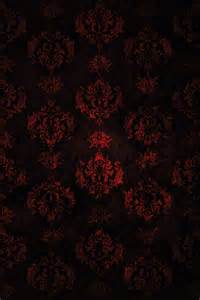 Red and Black Damask Texture