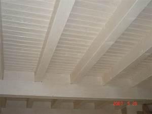 Bien Peindre Un Plafond : plafond en bois blanc qa03 jornalagora ~ Melissatoandfro.com Idées de Décoration