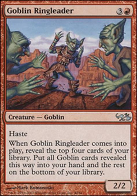 Goblin Tribal Commander Deck by Aether Vial Mtg Card