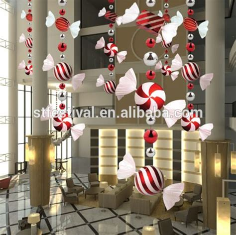 polyfoam candy mall christmas decoration buy mall