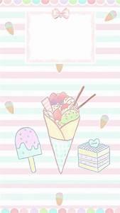 Cartoon Ice Cream Wallpaper (65+ images)