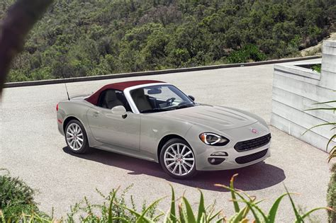 2018 Fiat 124 Spider Receives New Colors And Trims Carscoops