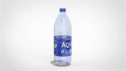 Bottle Plastic Empty Liter 3d Models C4d
