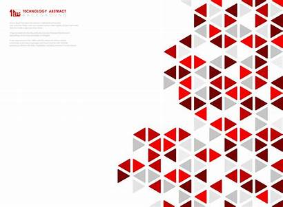 Cube Pattern Abstract Geometric Vector Illustration Hexagonal