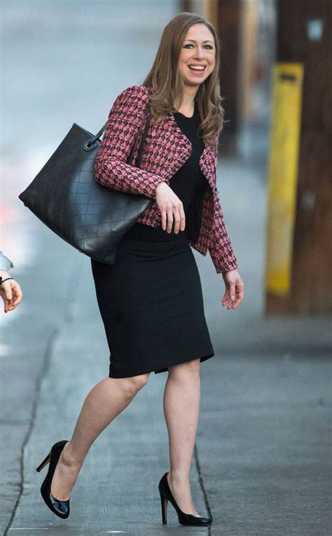 Hot Mama! Chelsea Clinton Flaunts Slim Figure in Fitted Black Dress 6 Months After Giving Birth ...