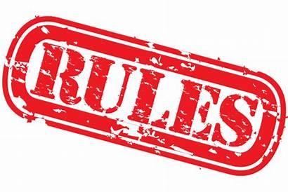 Rules Follow Regulations Rule Notification Standard Additional