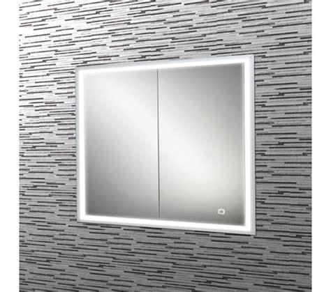 HIB Vanquish LED Demisting Recessed Mirror Cabinet 630 x