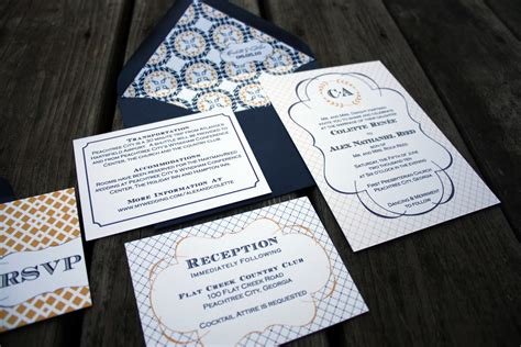 Madeline Wedding Invitations by Fourth & Folded The
