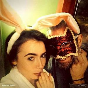 ©Lily Collins 2015 Whosay/Instagram | lily collins hair ...