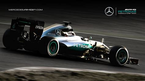 Mercedes AMG F1 Wallpapers 4 - 1600 X 900