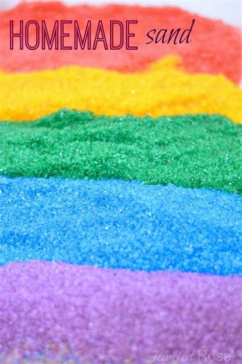 Farbe Mit Sand by Colored Sand Growing A Jeweled