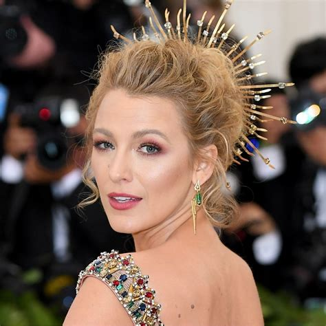 Blake Lively Wears All-Drugstore Makeup to the 2018 Met