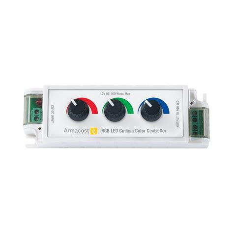 armacost lighting rgb led custom color lighting controller