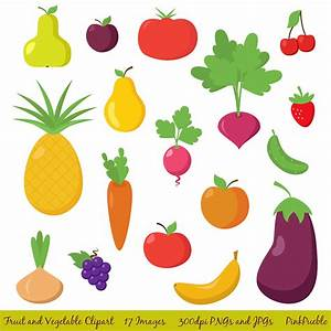 Fruit and Vegetable Clipart Clip Art Fruit Clipart Clip Art